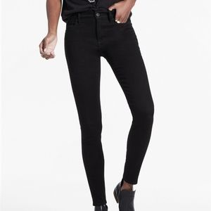 Lucky Brand Black Brooke Legging Jean Mid Rise 10